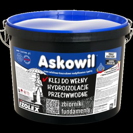 Битумно-каучуковая мастика на основе растворителей, клей для битумной черепицы ASKOWIL
