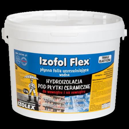 Гидроизоляция под керамическую плитку внутри и снаружи помещений IZOFOL FLEX
