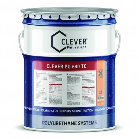 Защитное финишное покрытие Clever 640 TC