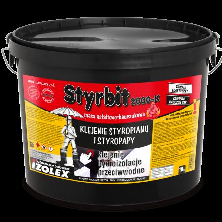 Битумно-каучуковая мастика на основе растворителей, клей для пенополистирола STYRBIT 2000К