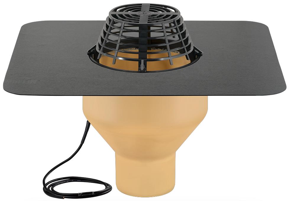 Воронка с полиуретана SitaStandard с ПВХ-фартуком и системой обогрева