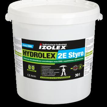 Двухкомпонентная толстослойная битумная мастика с пенополистирольными шариками HYDROLEX 2E STYRO