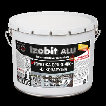 Гидроизоляционная декоративная кровельная мастика IZOBIT ALU