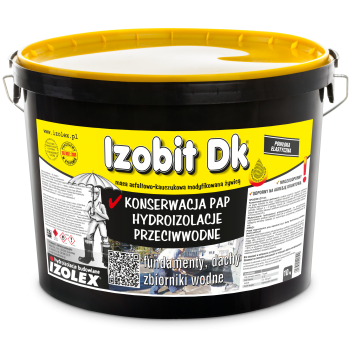 Мастика битумно-каучуковая на основе растворителей IZOBIT DK