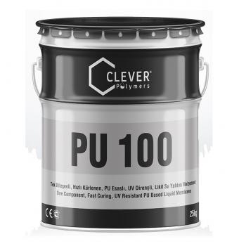 Быстросохнущее покрытие Clever PU Base 100