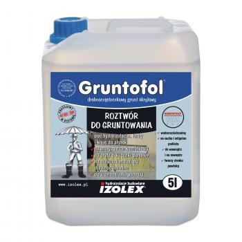 Гидрофобная грунтовка для укрепления поверхности GRUNTOFOL