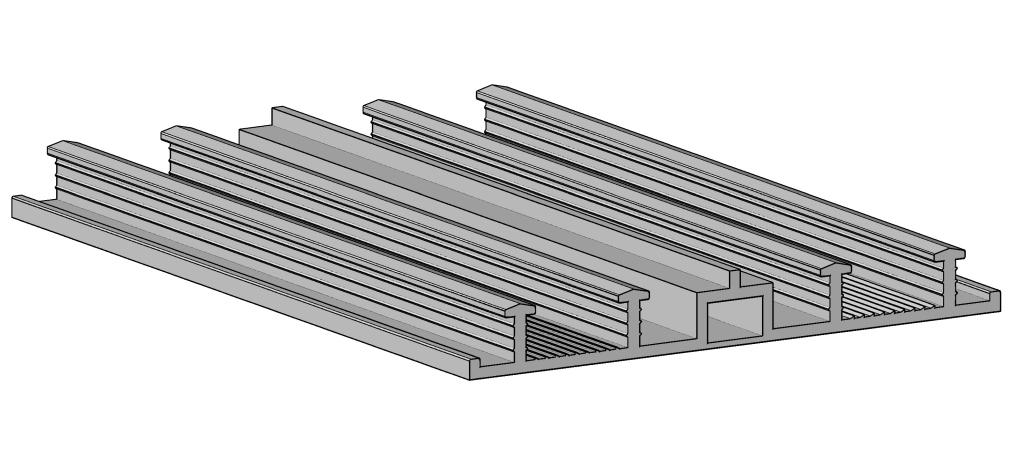 НД -серия внешние гидрошпонки для деформационных швов