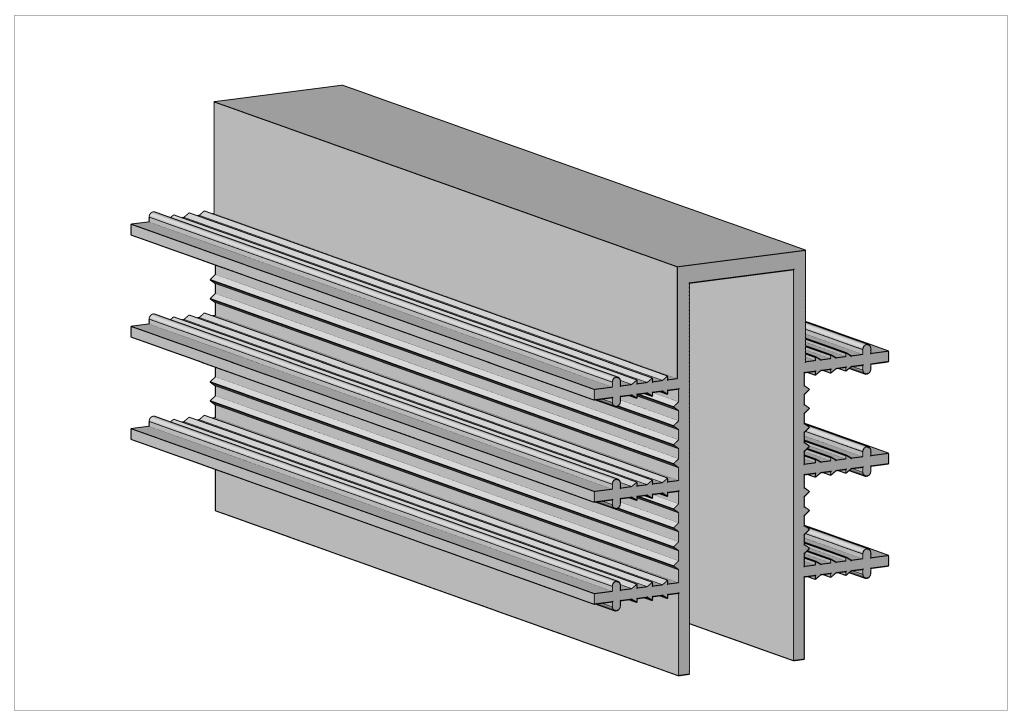 П -серия гидрошпонки для деформационных швов